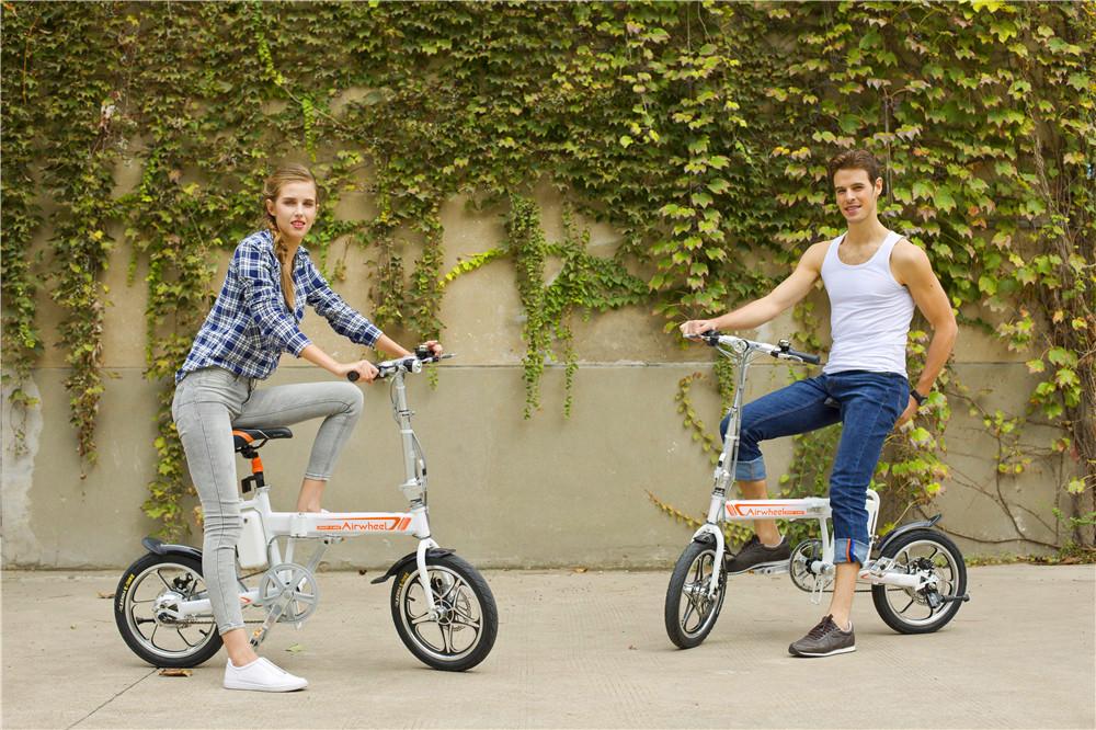 Todo sobre nuestro e-bike Airwheel R5... (oprima imágen)